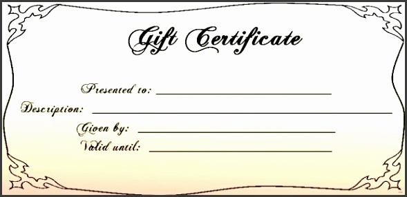 22 Printable t certificate template patible Printable Gift Certificate Template Principal Snapshot Certificates Templates 30 with