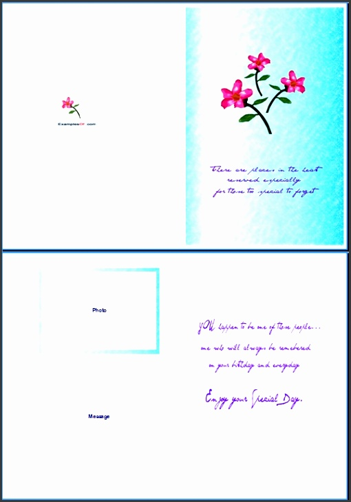 word greeting card template birthday card word template gangcraft free