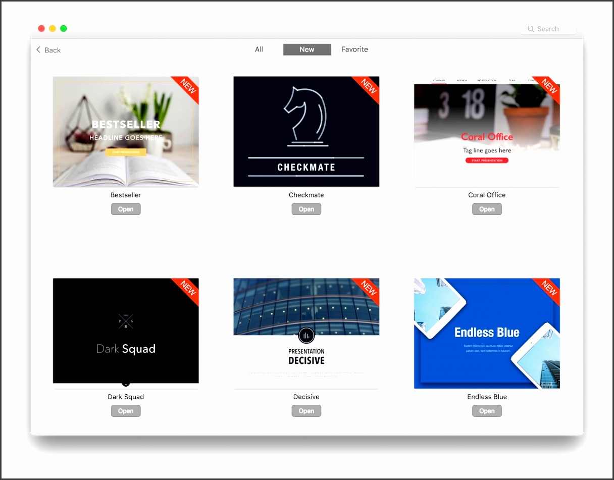 Edit Pages Templates