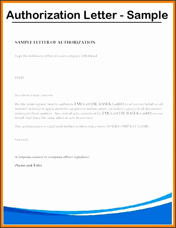 authorization letter authorization letter sample authorization authorization letter for bank deposit