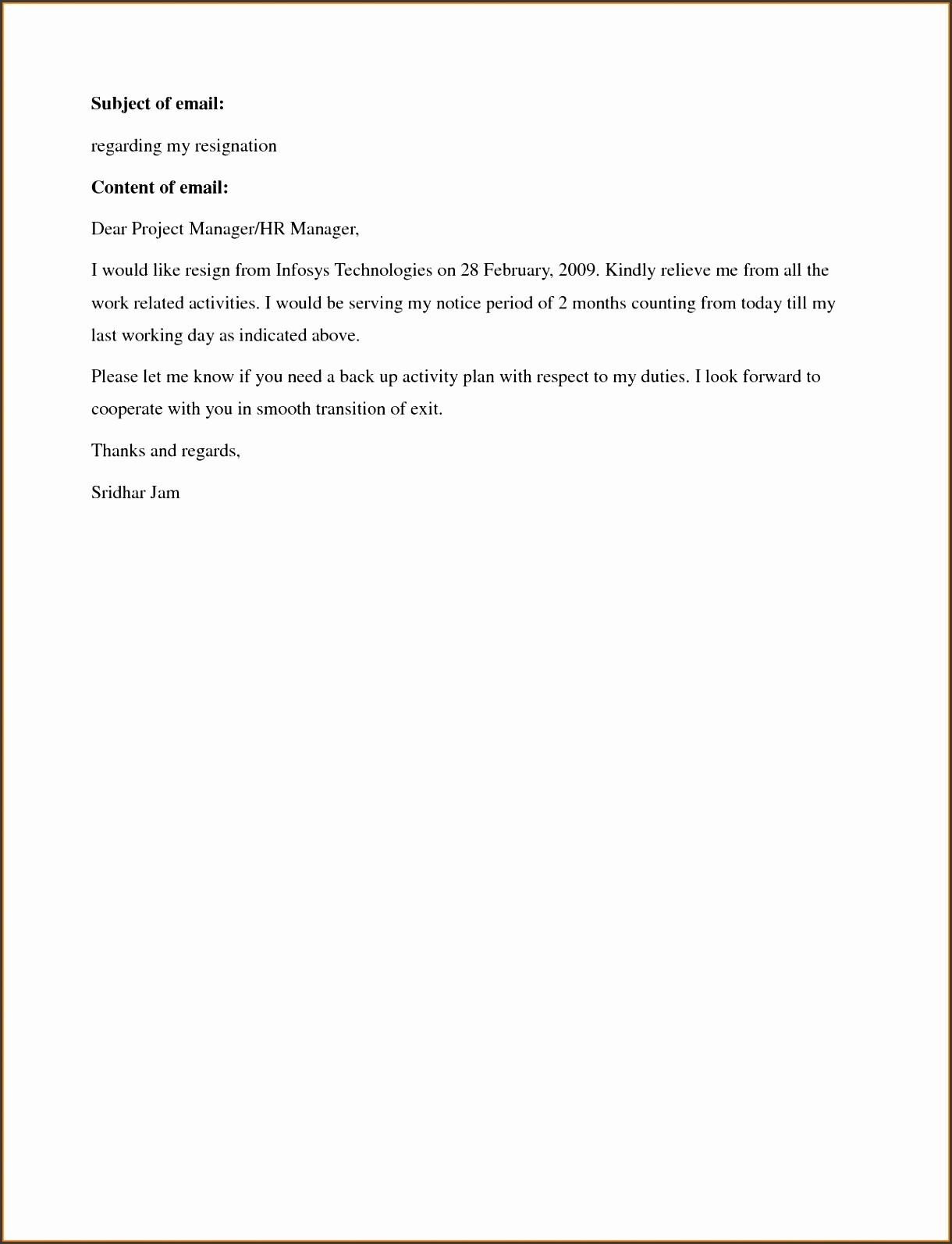 Creative Job Resignation Letter Template Uk with Additional Resignation Letter Example Resign Letter Notice e