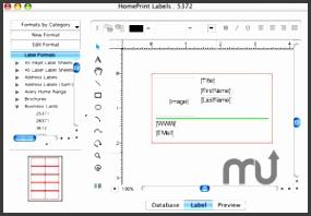 Screenshot 1 for Mac Label Maker