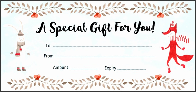 9 make your own gift voucher template - sampletemplatess