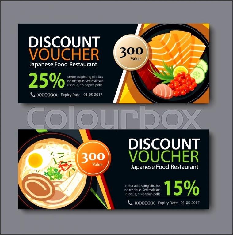7 meal voucher template - sampletemplatess