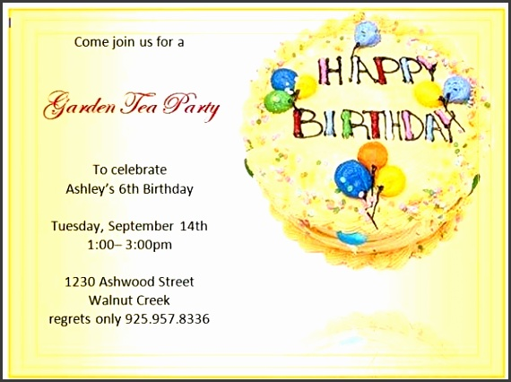 Birthday Invitation Templates – Microsoft Word Templates throughout Birthday Invitation Cards Templates Word