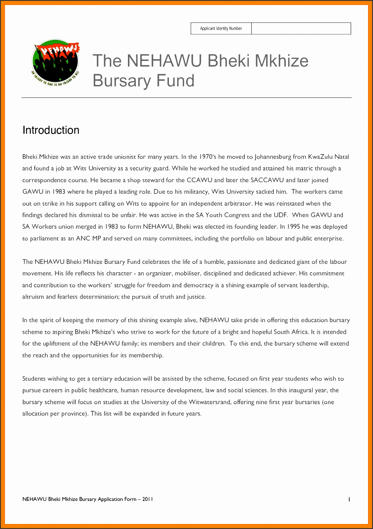 bursary letter sampletivation letter for bursary application pdf motivational letter for bursary application sample