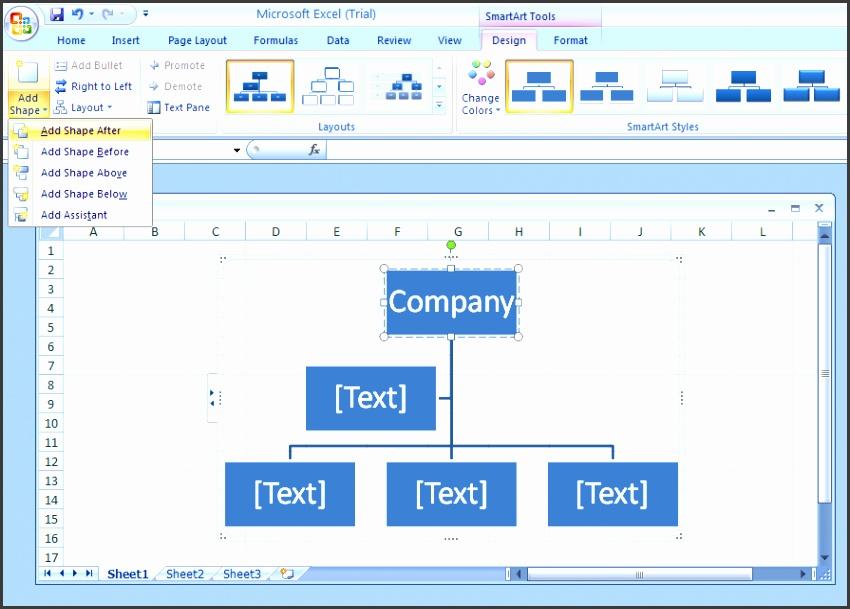 excel organizational chart excel 2007 organizational chart template add a shape to an