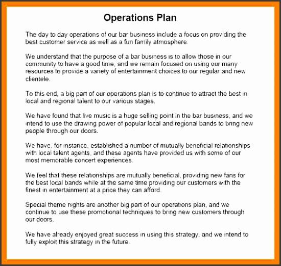 9 operational plan template sampletemplatess sampletemplatess