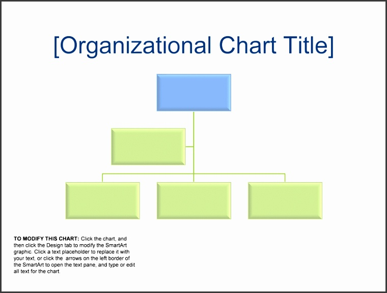 5 org chart templates for word