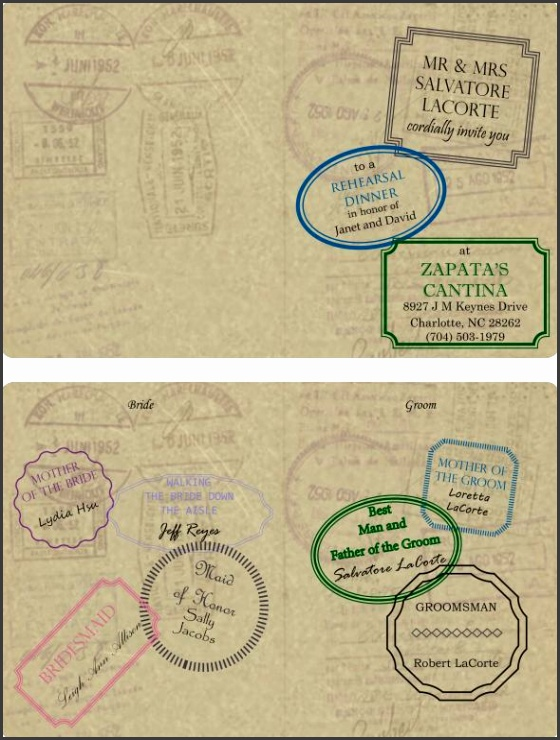 Passport Invitations Template Passport Invitation Templates Needed Passport Invitation Template