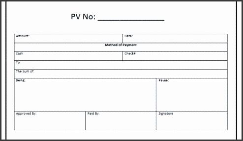 Payment Voucher Templates – 10 Free Sample Templates