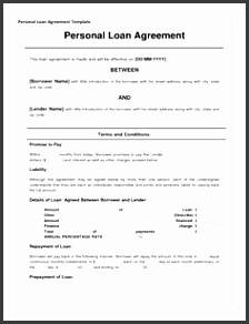 Sample Loan Contract 5 Loan Agreement Templates To Write Perfect Agreements Loan Agreement Template Loan Contract Form With Sample Loan Contract Template