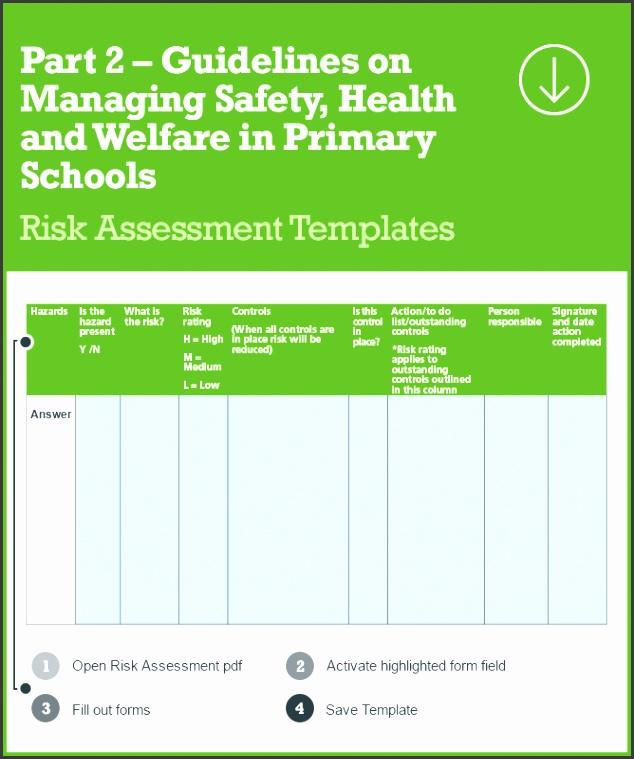 risk assessment header