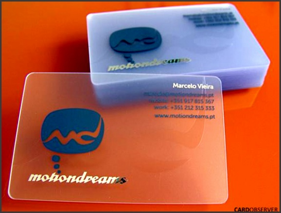 25 Clear Plastic Business Cards Design The Design Work Clear Plastic Business Cards