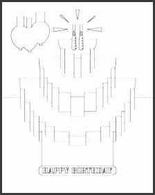 7 Pop Up Birthday Card Template Free Sampletemplatess