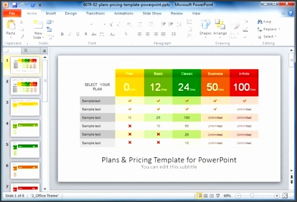 Powerpoint parison Template Best parison Chart Templates For Powerpoint Free