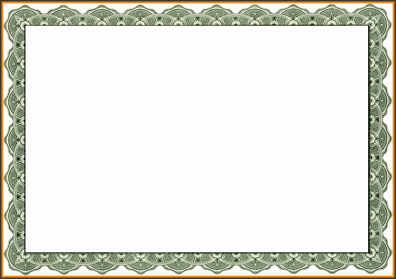 Borders For Certificates Templates 6 Free Printable Certificate Certificate Border