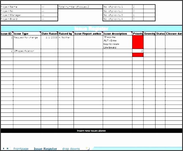 5 project risk register template sampletemplatess sampletemplatess. Black Bedroom Furniture Sets. Home Design Ideas