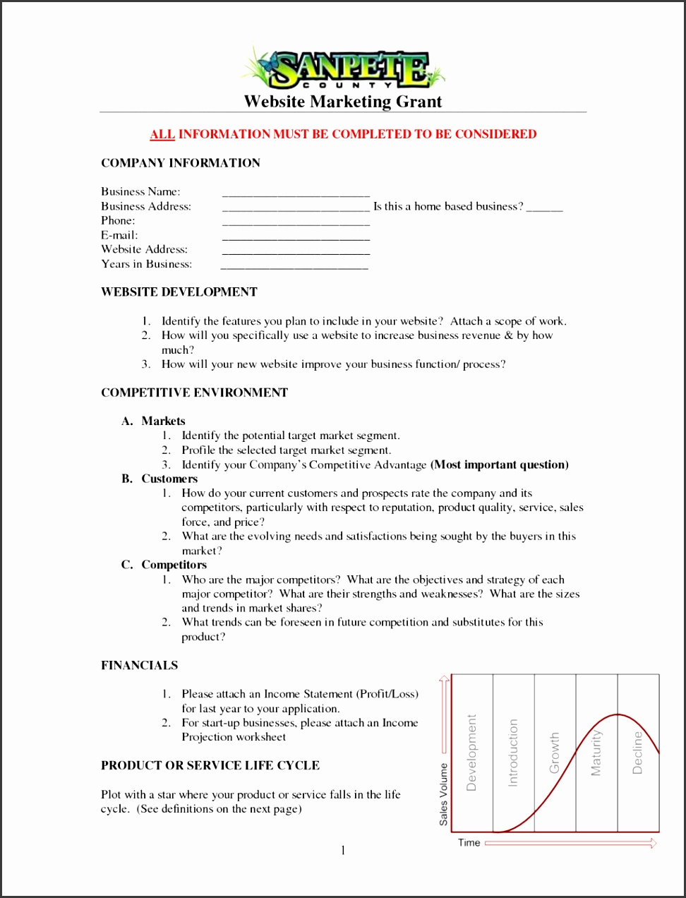 E merce Business Plan Sample Doc Checklist Pdf Proposal