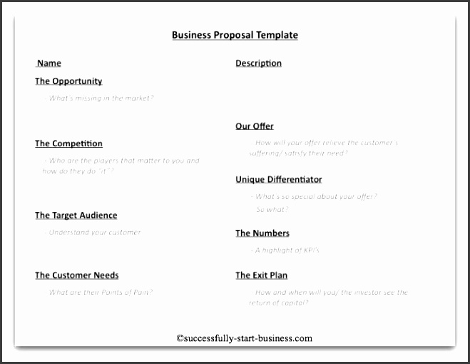 Best Business Proposal Sample Ideas Sample