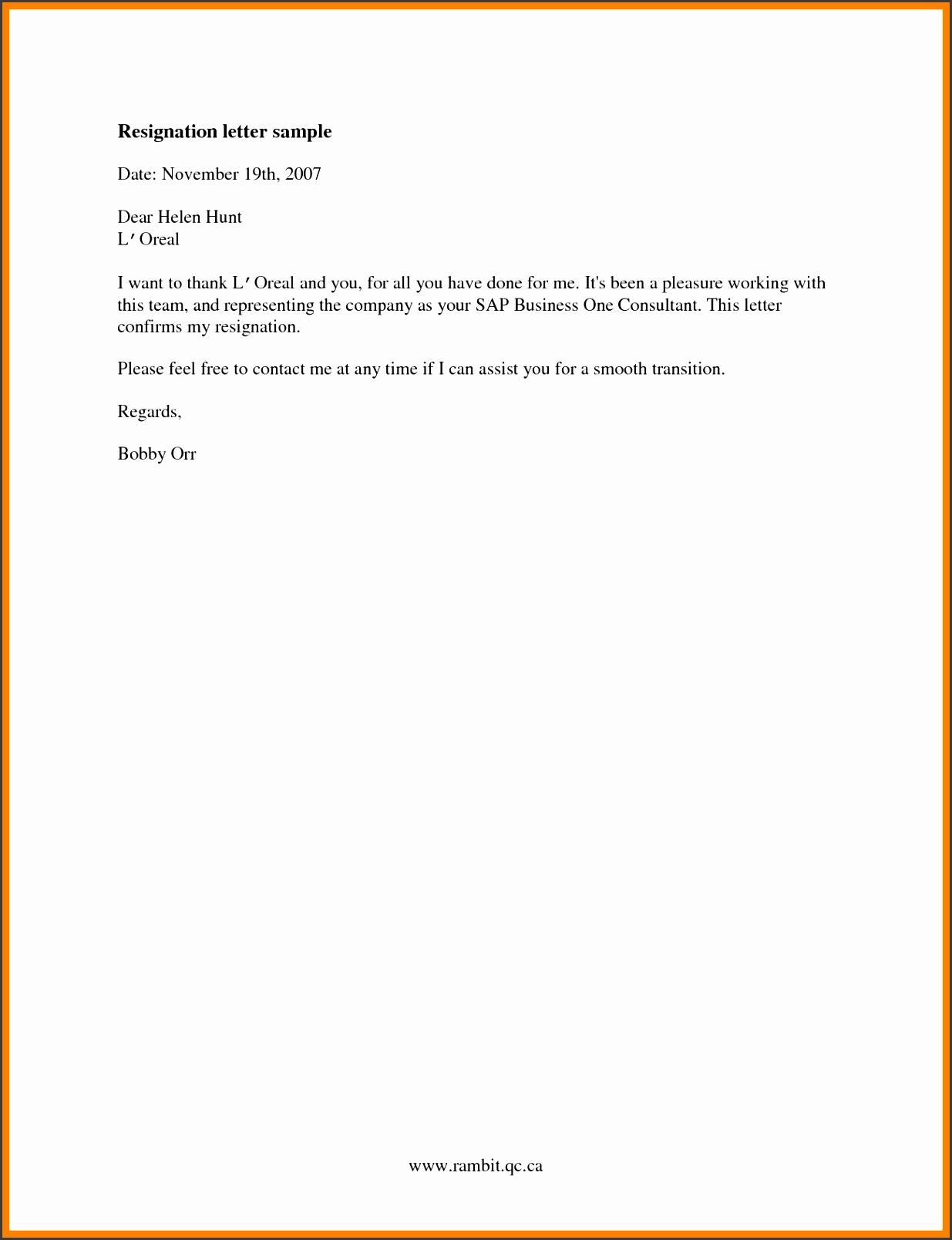 basic resignation lettermple resignation letters examples tm9fmmcr