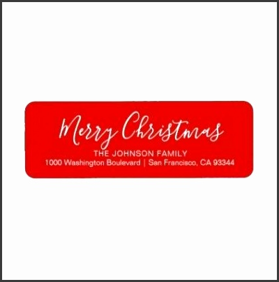 christmas return address labels template modern chic red holiday return address label christmas return address labels