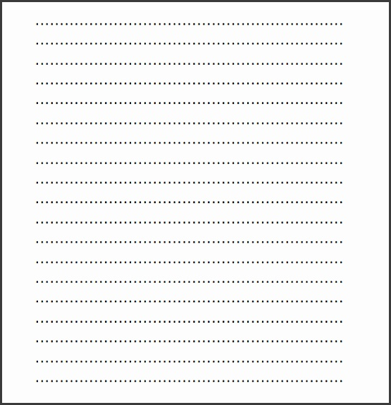 A4 Lined Paper Word Doc Download