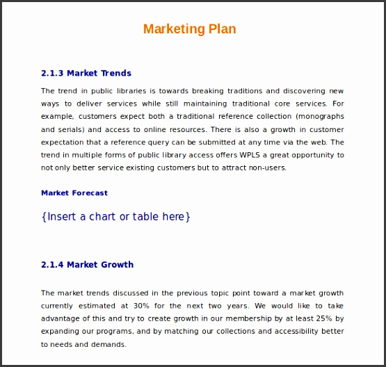 promotional plan examples