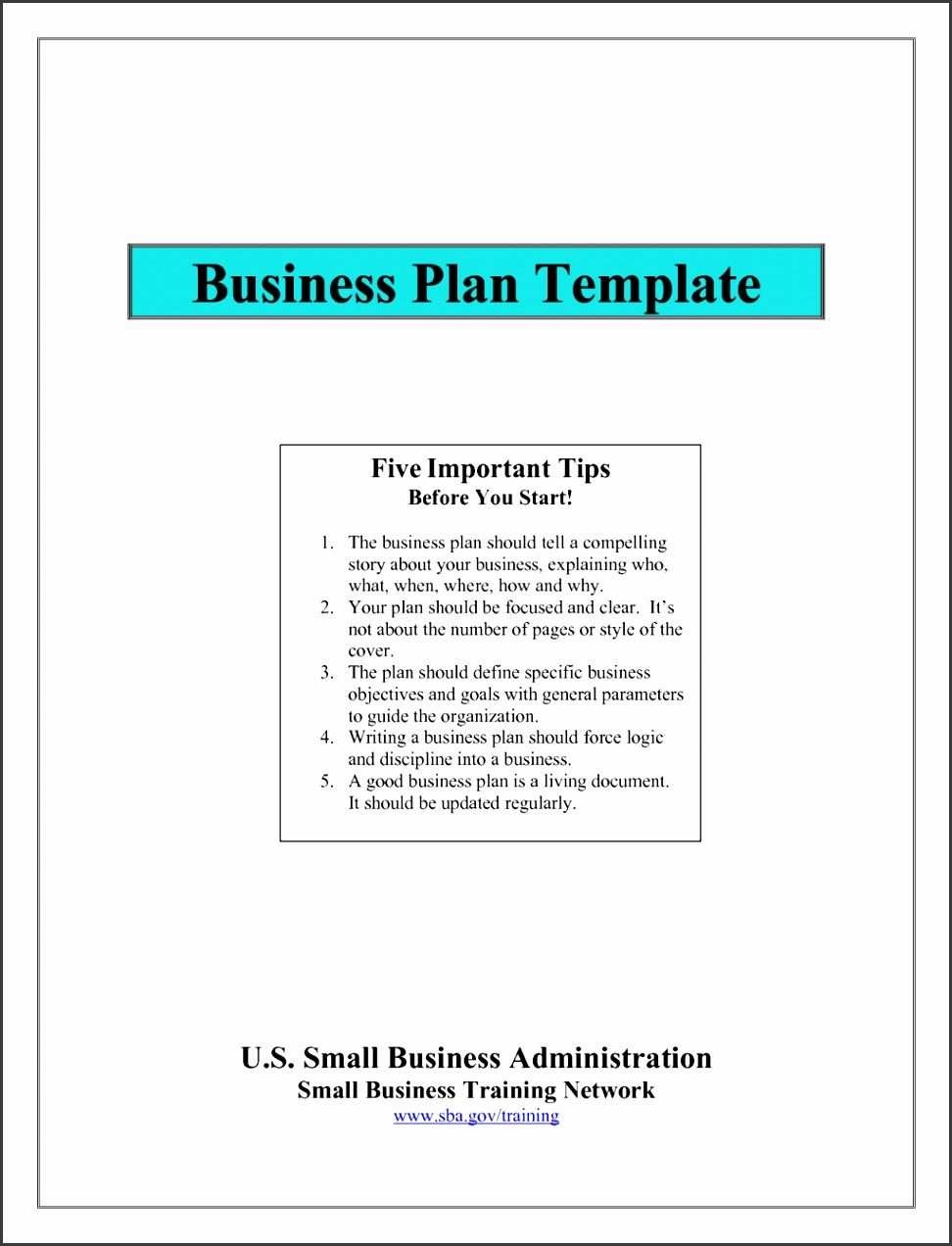 Sba Business Plan Template Free 1024x1326 Startup Example Small