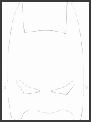 HD wallpapers superhero mask template twinkl