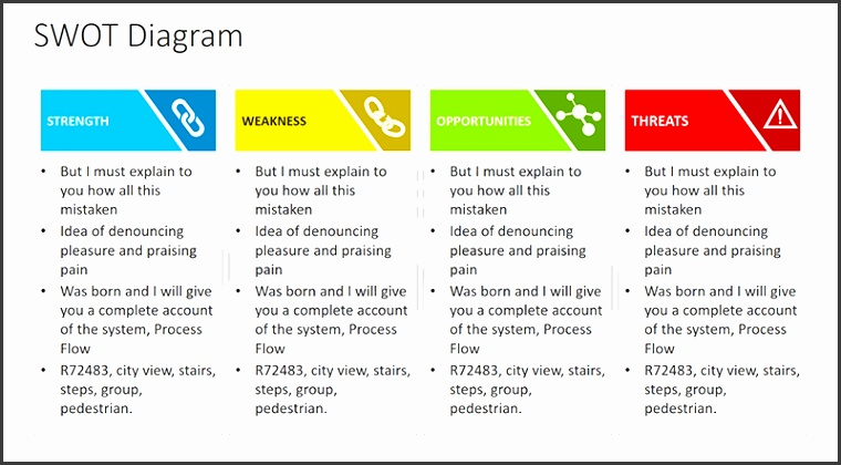 More Views PowerPoint SWOT Analysis Template