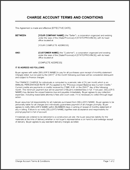 7 Terms Of Service Agreement Template Sampletemplatess
