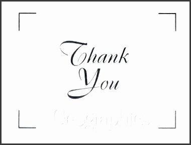 blank thank you card template word