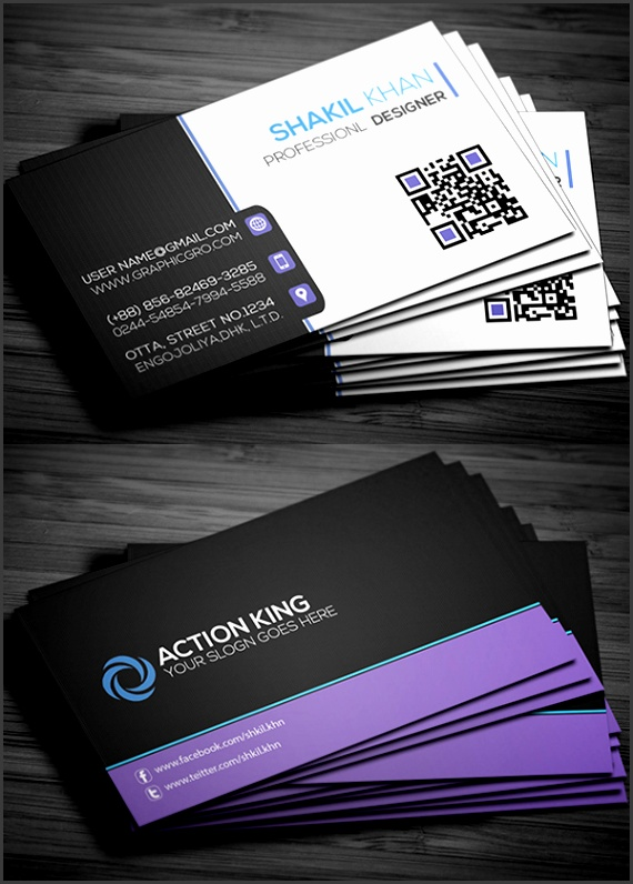 10 Visiting Card Templates Download