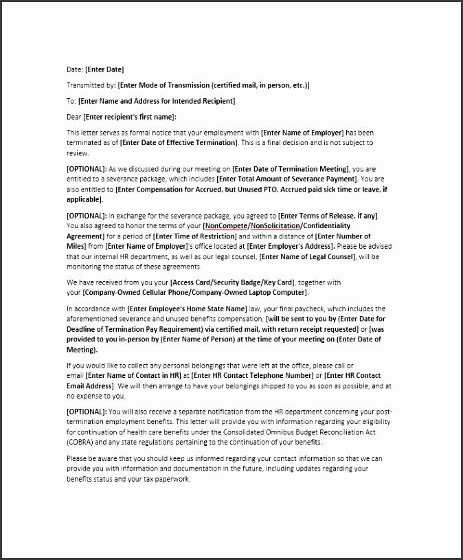 10 voluntary redundancy letter template