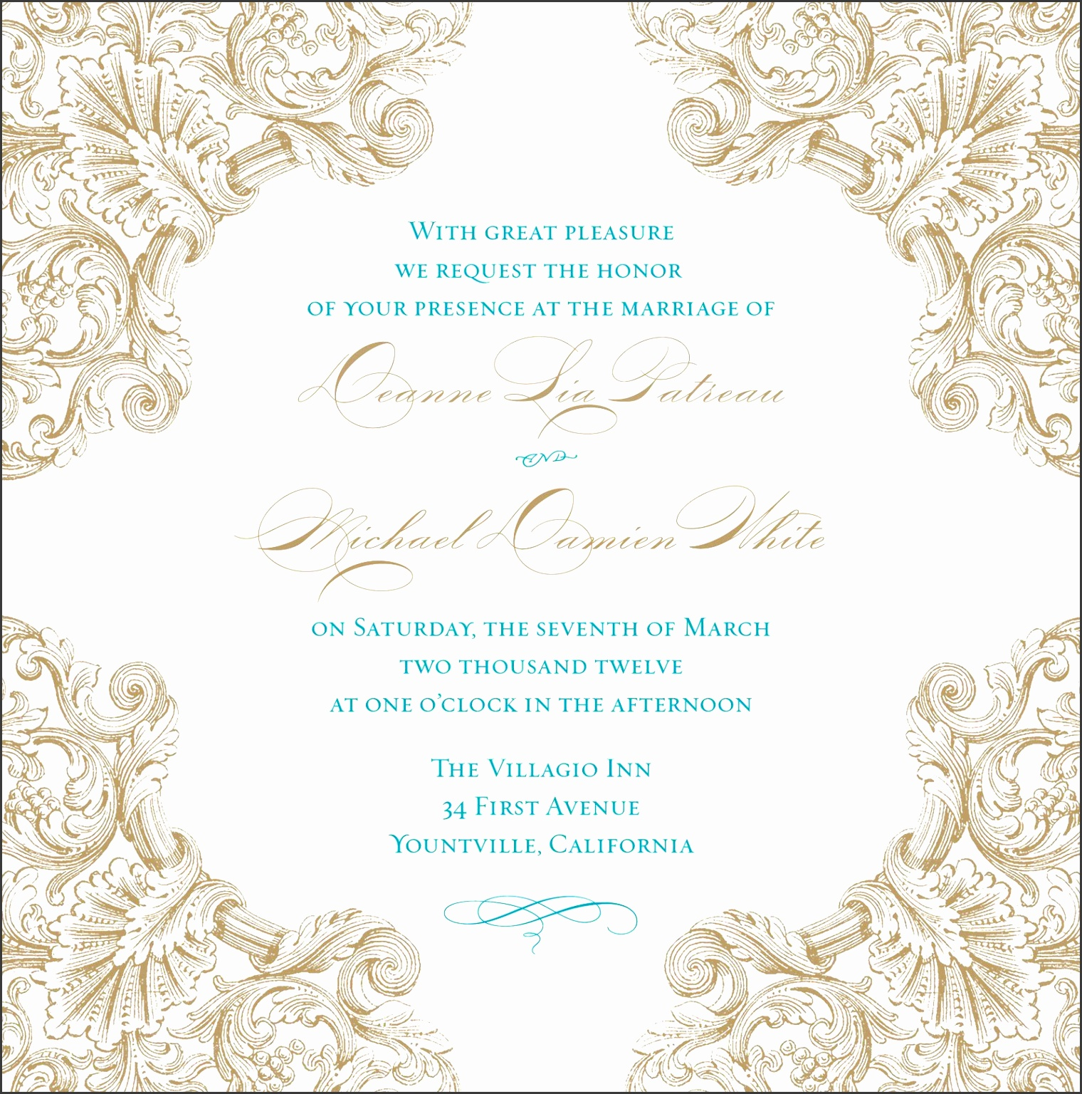 7 Wedding Card Template Photoshop