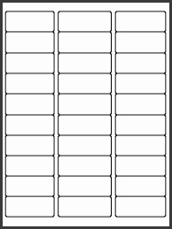 label templates 30 per page laser label layouts artcraft puter forms corp label templates 30 per page