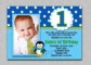 1St Birthday Invitations Templates With Photo