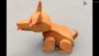 3D Cardboard Animals Template