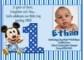Baby Boy 1St Birthday Invitation Templates