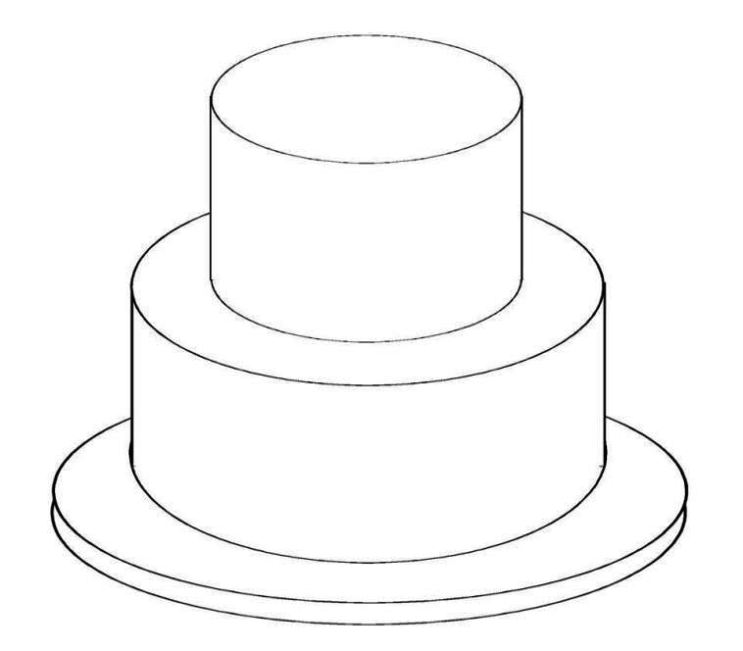 birthday cake templates printables