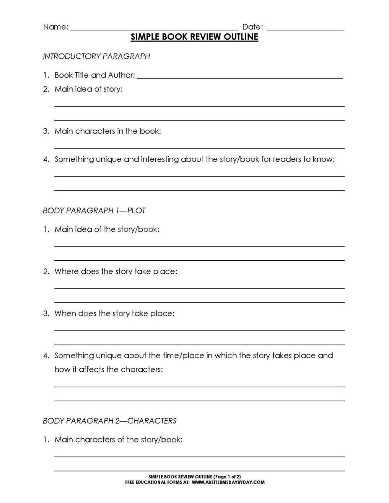 book report mobile template - sampletemplatess