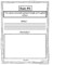 Book Report Template For First Grade