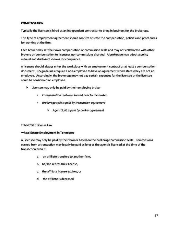 commission split agreement template - sampletemplatess