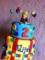 Curious George Cake Template