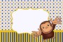 Curious George Invitation Template