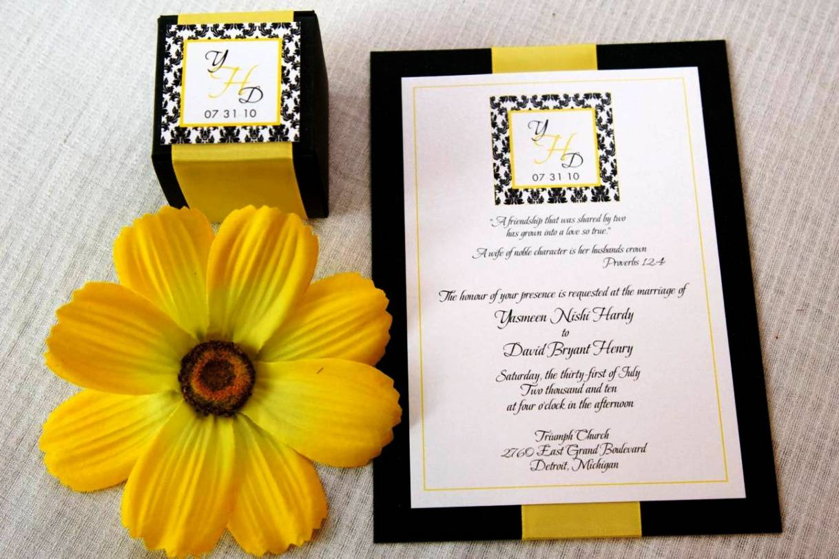 Design Your Own Wedding Invitations Template