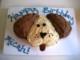 Dog Face Cake Template