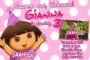 Dora Birthday Invitation Template