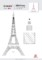 Eiffel Tower Cake Template
